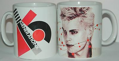 GENERATION X / BILLY IDOL  : Set of 2 11oz COLLECTORS MUGS - **COLLECTABLE