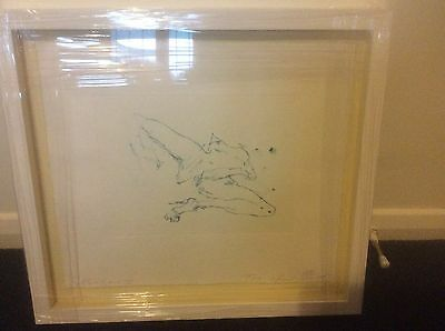 Tracey Emin Suffer Love ll Signed framed with museum glass limited edition