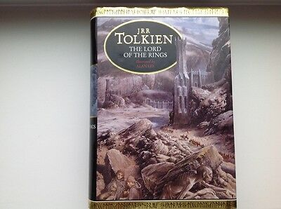 The Lord of the Rings Hardback Book 1991 Illustrated Edition Alan Lee