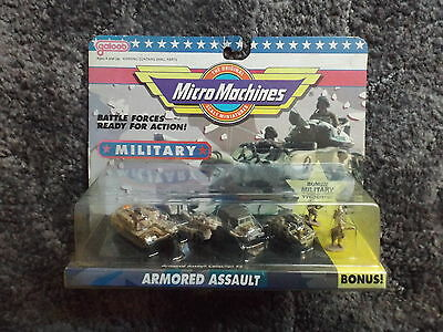 Galoob Micro Machines Military Armored Assault