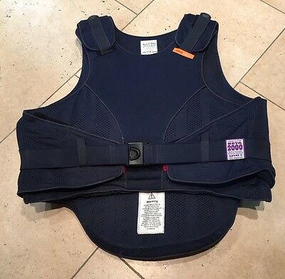 Navy Airowear Body Protector Adult X Small