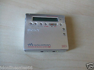 Sony Walkman MZ-R900 Personal MiniDisc MD Mini Disc Player