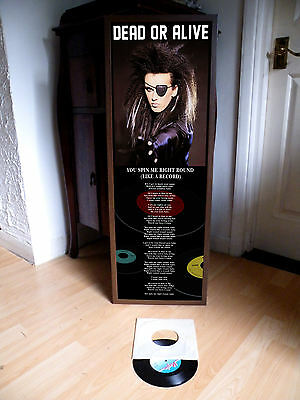 Dead Or Alive You Spin Me Round (Like A Record) Poster Lyric Pete Burns,pop Rock