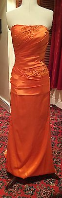 STUNNING LADIES VINTAGE 1930's STYLE  EVENING DRESS THEATRICAL STAGE COSTUME