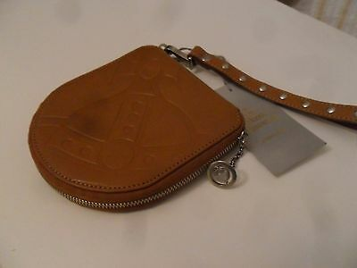 Vivienne Westwood Leather Dvd/cd Case Bag Nwt Rrp 110.00 Pounds