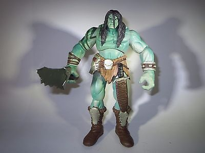 "Skaar - Son of Hulk - Marvel Legends - Fin Fang Foom Series 18 cm 7 "" inch 2008"