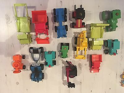Massive Bob The Builder Set 14 Vehicle Talking Figures And Small Characters