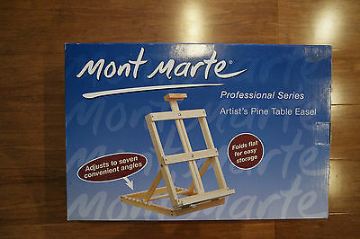 Mont Marte Professional Series Artist's Pine Table Easel