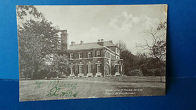 Jersey Channel Islands Postcard Government House No 6970 Light Sepia Series
