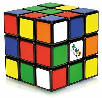Original Rubik's Cube Puzzle Rubiks Game Gift Play Inventor Rubix Toy New