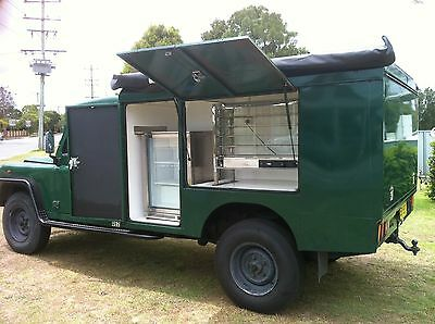 Land Rover Food Truck
