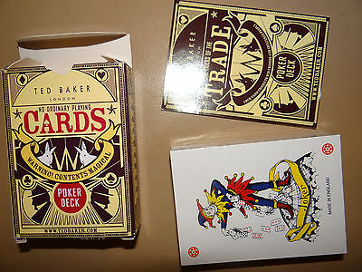 Brand New Sealed Ted Baker No Ordinary Playing Cards Poker Deck Stocking Filler