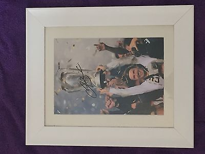 Signed framed David Beckham Photograph with Certificate Of Authenticity