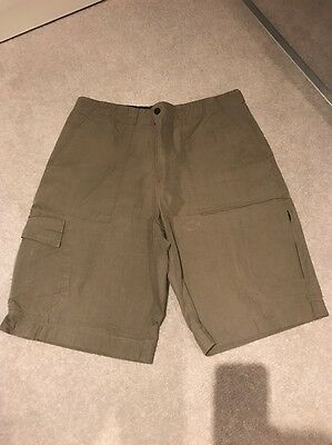 Men's Green Blue Harbour Marks And Spencer's Short Waist 34