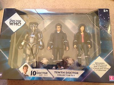 Dr Who Figures Tenth Doctor New