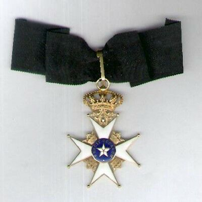SWEDEN. Royal Order of the Northern Star (Kungliga Nordstjärnenorden), commander