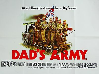 """Dads Army Original 16"""" x 12"""" Reproduction Movie Poster Photograph 2"""