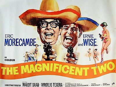 """The magnificent two 16"""" x 12"""" Reproduction Movie Poster Photograph"""