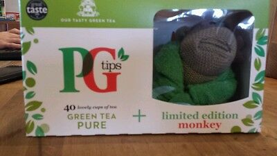 NEW PG TIPS Limited edition green tea monkey
