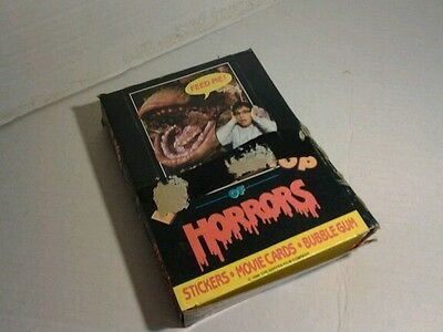 1986 topps little shop of horrors trading cards
