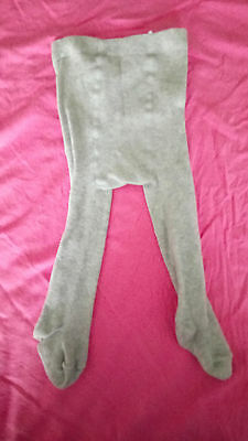 Lot 90 - Collant Bebe Gris Clair Taille 17 - 18
