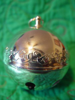 Wallace Silver Plated Sleigh Bell 1976 Joyous Bicentennial 6th  Edition