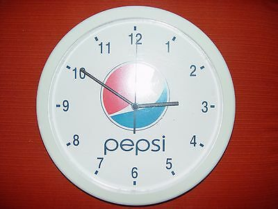 Pepsi Cola Battery Operated round Wall Clock