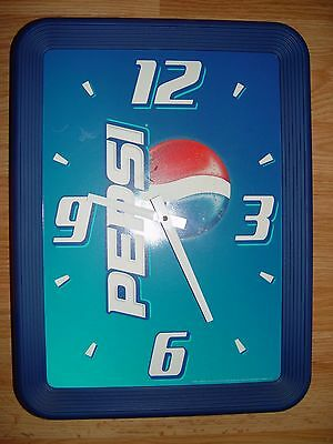 Pepsi Cola Battery Operated Wall Clock