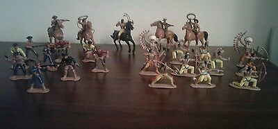 Cowboys and Indians vintage figures