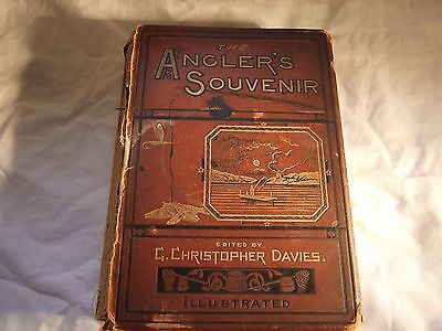 The Anglers Souvenir-Antique Fishing Book