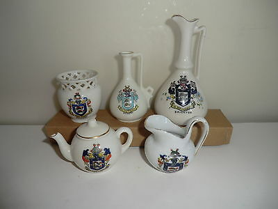 Brighton Sussex Crested China Pieces - Retired Greyhound Trust Charity Auction