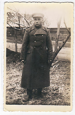 OLD original photo. WW2. Soviet officer 1941-1945 USSR. Russia (1717)