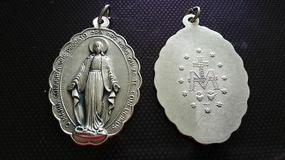 Virgin Mary necklace charms Catholic Saint charm Vatican City medal medallion #2