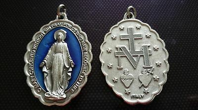 Virgin Mary necklace charms Catholic Saint charm Vatican City medal medallion #1