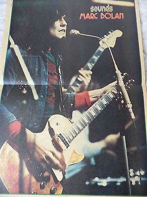 Marc Bolan 1971 Magazine Poster  Genuine Very Good Condition  44 Years Old