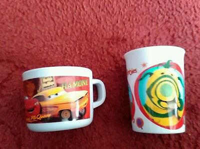 Fimbles and mcqueen cups