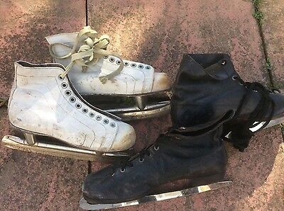 Reduced Vintage ice skates
