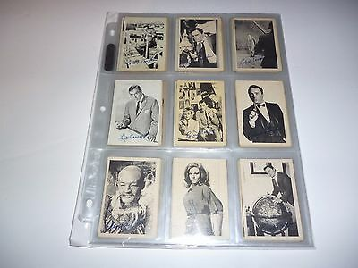 1965 A&BC Gum Man From Uncle  Trading Card Set