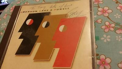Emerson Lake and Powell CD autograph by Cozy Powell