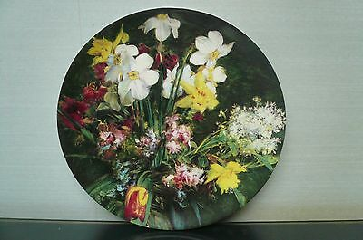 """Hammersley Bone China Spring Bouquet Collectors Plate - 9"""" Diameter"""