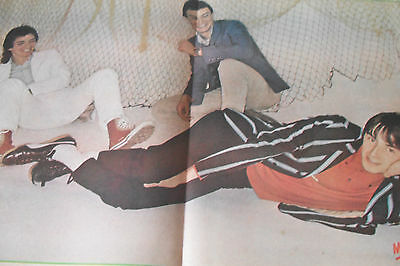 THE JAM  1979 double page magazine poster A2