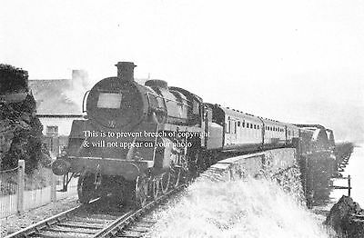 Photo Of Train Standard Class 4-6-0 Approaching Barmouth North Wales