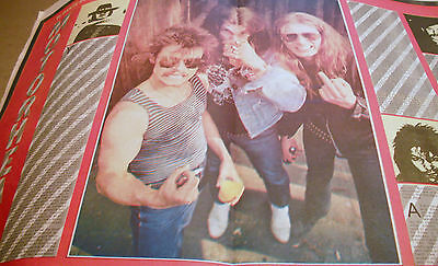 Motorhead 1980 Double Page Feature
