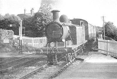 Photo Of Eastbourne To Tunbridge Wells West Train Entering Mayfield Station
