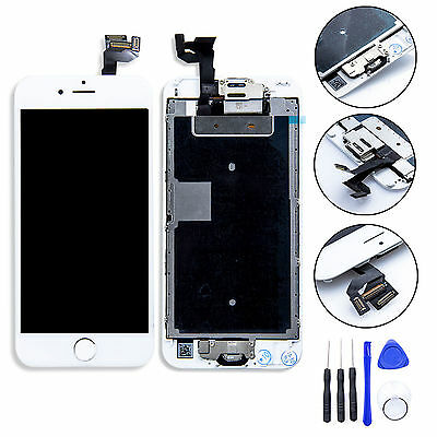 "White Full LCD Screen Display 3D Touch Digitizer For iPhone 6S Plus 5.5"" + TOOLS"