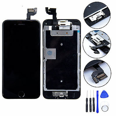 "Black Full LCD Screen Display 3D Touch Digitizer For iPhone 6S Plus 5.5"" + TOOLS"