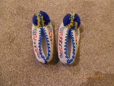 Traditional Greek Slippers Child Size 8