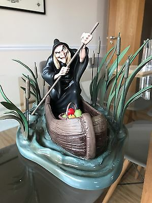 WDCC Old Hag from Snow White - Poisonous Plot with Box & COA