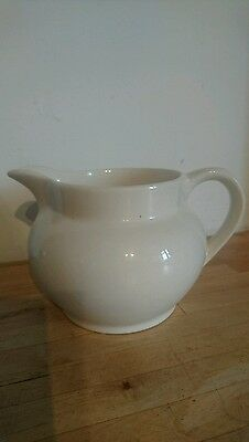A Stunning A Beswick Jug - Cream Or Off White