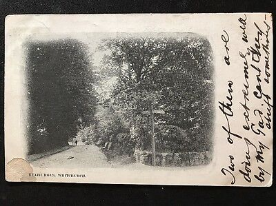 RP Vintage Postcard - Shropshire #A7 - Heath Road, Whitchurch - 1903